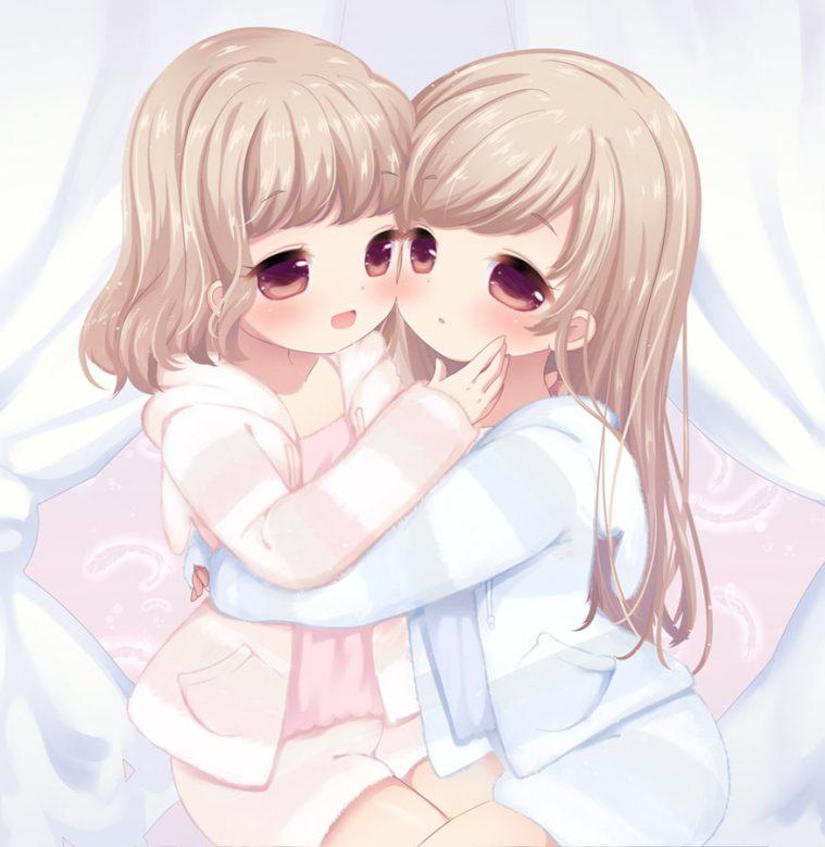 双子ちゃんと3人で幸せなオーガズムを体験できるエロASMR
